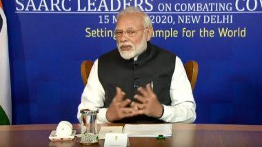 कोरोना वायरस का कहर, पीएम मोदी ने  SAARC देश के नेताओं से  कहा- घबराने की नहीं सावधान रहने की जरुरत