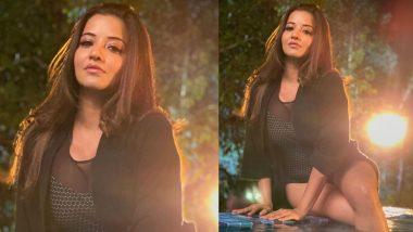 Monalisa Hot Photo: भोजपुरी स्टार मोनालिसा पति संग पूल में आईं नजर, ब्लैक बिकिनी में ढाया कहर