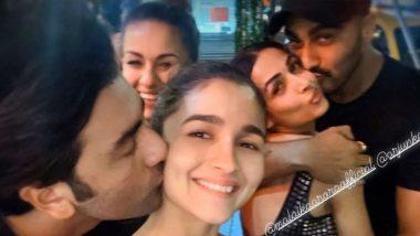 रणबीर कपूर-आलिया भट्ट और मलाइका अरोड़ा-अर्जुन कपूर की ये Kissing Photo हुई Viral