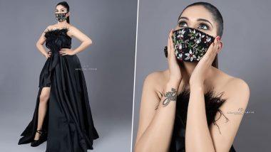 Sapna Choudhary Photos: कोरोना वायरस के कहर के बीच सपना चौधरी ने मास्क पहन कर करवाया फोटोशूट