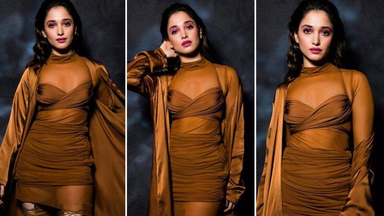 Bombay Times Fashion Week 2020 में तमन्ना भाटिया का Hot अवतार देख फैंस हो जाएंगे क्लीन बोल्ड