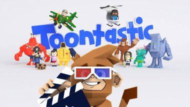 Toontastic 3D Cartoon: Google 3D Lion, Giant Panda, Tiger और Shark देखकर आपके बच्चे हो गए हैं बोर? उनके मनोरंजन के लिए मोबाइल में डाउनलोड करें टूनटास्टिक थ्रीडी कार्टून ऐप