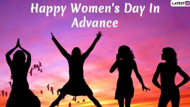Women's Day 2020 Wishes in Advance: इन प्यारे हिंदी WhatsApp Status, Facebook Messages, GIF Greetings, Photo SMS, Wallpapers के जरिए अपने जीवन की खास महिलाओं को कहें हैप्पी वुमन्स डे इन एडवांस
