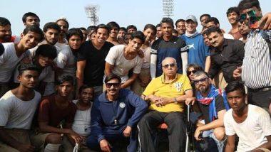 भारतीय फुटबॉलर पीके बनर्जी के निधन पर अजय देवगन हुए भावुक, सोशल मीडिया पर साझा किए यादगार पल