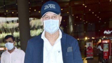 Coronavirus Outbreak: फेस मास्क पहनकर अमेरिका से लौटे अनुपम खेर, अब रहेंगे आइसोलेशन में
