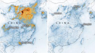Coronavirus Impact: कोरोना वायरस के कारण चीन में कम हुआ प्रदूषण का स्तर, NASA ने जारी की तस्वीरें