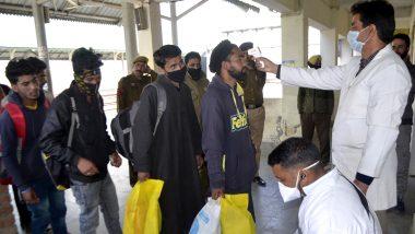 कोरोना संकट: गुजरात से हजारों श्रमिक पैदल ही वापस लौट रहें हैं मध्यप्रदेश