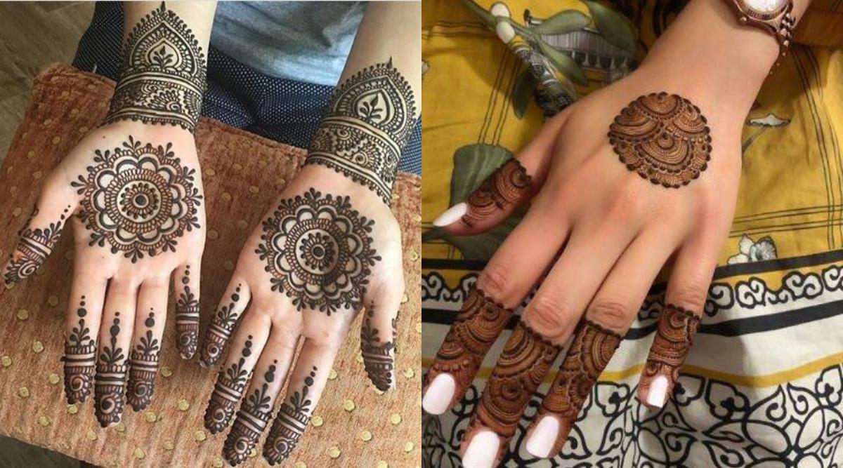 Holi 2020 Mehndi Designs: अपने हाथों पर मेहंदी रचाकर खास अंदाज में मनाएं होली, देखें लेटेस्ट और आकर्षक डिजाइन्स