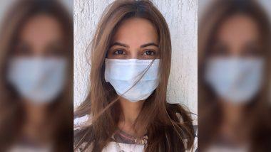 Coronavirus in India: बॉलीवुड सेलिब्रिटीज के बीच भी छाया कोरोना वायरस का खौफ, एक्ट्रेस कृति खरबंदा ने मास्क पहनकर फैंस को दी ये सलाह