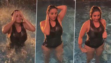 मोनालिसा का Hot स्विमिंग पूल Video इंटरनेट पर हुआ Viral,होली के पहले दिलकश अंदाज में आईं नजर