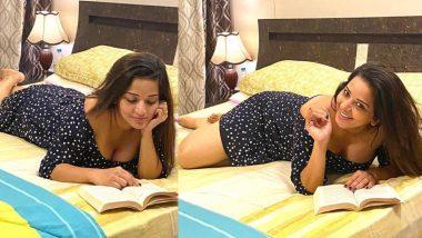 Monalisa Hot Photos: भोजपुरी एक्ट्रेस मोनालिसा ने बुक पढ़ते हुए फोटो किया शेयर तो अंदाज देख फैन्स हो गए दीवाने