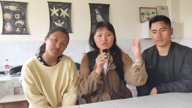 COVID-19: 'हमें कोरोना वायरस न कहें' उत्तर-पूर्व के छात्रों का दिल छू लेने वाला वीडियो हुआ वायरल, आप भी देखें