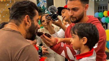 लॉक डाउन के बावजूद सलमान खान ने ऐसे मनाया भांजे आहिल शर्मा का जन्मदिन (See Photos)