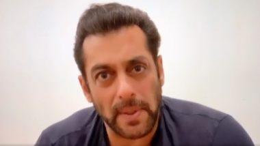 सलमान खान ने भतीजे निर्वान के साथ वीडियो शेयर कर कहा- हम लोग डर गए हैं (Video)