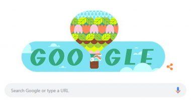 Spring Season Google Doodle: खास डूडल के जरिए गूगल मना रहा है वसंत के मौसम की शुरुआत का जश्न