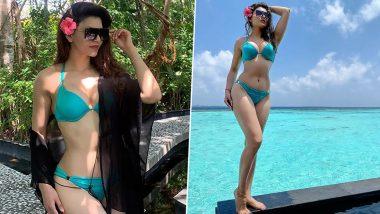 Urvashi Rautela Hot Photo: हॉट एक्ट्रेस उर्वशी रौतेला ने Bikini Photo शेयर करके मचाया बवाल, हॉटनेस से लगाई आग