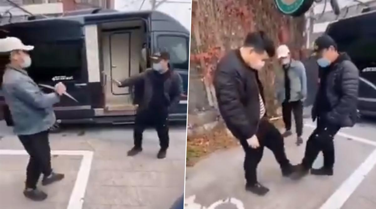 Coronavirus Impact: चीन में अब अपने परिजनों से ऐसे मिल रहे हैं लोग, 'वुहान शेक' का वीडियो हो रहा है वायरल
