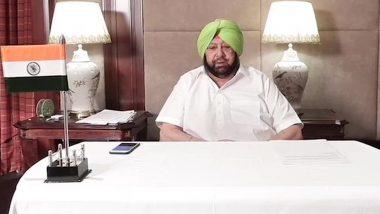 पंजाब: सीएम कैप्टन अमरिंदर सिंह ने वीडियो कांफ्रेंसिंग के जरिए राज्य में COVID-19 की स्थिति पर वरिष्ठ अधिकारियों के साथ बैठक की