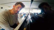 Lock Down in India: लॉक डाउन में पियानों बजाकर समय बिता रहे हैं ऋतिक रोशन, देखें Video