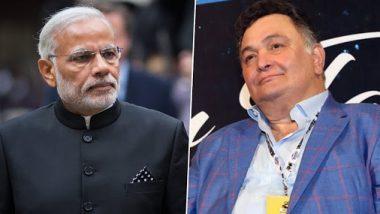 RIP Rishi Kapoor: प्रधानमंत्री नरेंद्र मोदी ने दिवंगत एक्टर ऋषि कपूर को ट्विटर पर दी श्रद्धांजलि