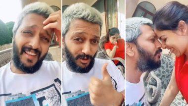 Lockdown: रितेश देशमुख ने घर पर वाइफ जेनेलिया डिसूजा के साथ मजेदार अंदाज में किया रोमांस, देखें इनका वायरल TikTok Video