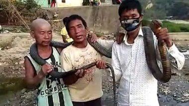 अरुणाचल प्रदेश: लॉकडाउन के बीच शिकारियों ने किंग कोबरा को मार कर खाया