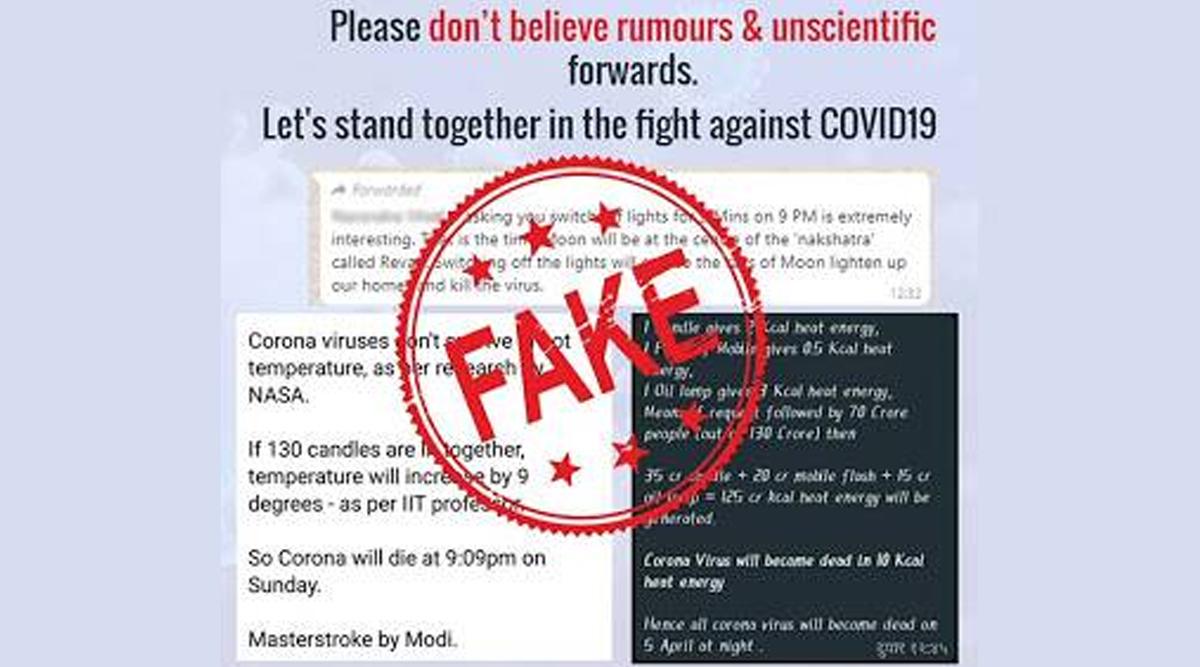 Fact Check: पीएम मोदी ने देशवासियों से की दीया जलाने की अपील, क्या इससे मर जाएगा कोरोना वायरस? जाने वायरल मैसेज की सच्चाई