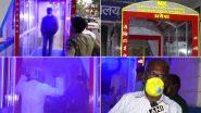 Coronavirus: मध्य प्रदेश के 62 वर्षीय नाहरू खान ने बनाई ऑटोमेटिक सैनिटाइजिंग मशीन, अस्पताल को दी दान