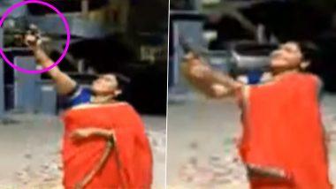 पीएम मोदी ने की थी दीप जलाने की अपील, बलरामपुर बीजेपी नेता मंजू तिवारी ने की हवाई फायरिंग, VIDEO वायरल