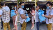 लॉकडाउन के बीच पारस छाबड़ा और माहिरा शर्मा ने जरूरतमंदों में बांटे राशन के पैकेट (Video)