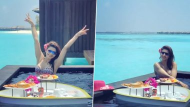 Urvashi Rautela Hot Video: स्विमिंग पूल में मस्ती करती पूर्व ब्यूटी क्वीन उर्वशी रौतेला का वीडियो इंटरनेट पर बढ़ा रहा है गर्मी