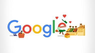 Thank You Coronavirus Helpers Google Doodle: कोरोना की जंग के बीच गूगल ने डूडल बनाकर ग्रोसरी वर्कर्स को कहा शुक्रिया