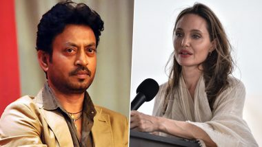 Irrfan Khan No More:  हॉलीवुड सुपरस्टार एंजेलिना जोली ने इरफान के परिवार के प्रति व्यक्त की संवेदनाएं