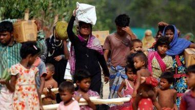 रोहिंग्याओं की घुसपैठ के डर से बांग्लादेश ने म्यांमार से लगती सीमा पर बढ़ाई सुरक्षा