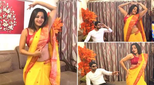 Monalisa Dance Video: भोजपुरी एक्ट्रेस मोनालिसा ने 'गेंदा फूल' सॉन्ग पर किया डांस, हॉट अंदाज देखकर फैंस भी हुए दीवाने