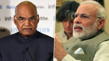 प्रधानमंत्री नरेंद्र मोदी और राष्ट्रपति रामनाथ कोविंद ने देशवासियों को दी ईद-उल-अजहा की शुभकामनाएं