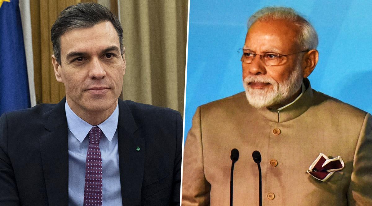 पीएम मोदी ने स्पेन के राष्ट्रपति पेड्रो सांचेज से टेलीफोन पर की बात, कहा- भारत देगा हरसंभव सहयोग