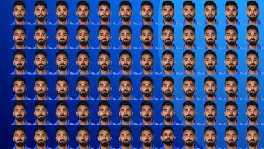 आईसीसी ने सोशल मीडिया पर शेयर किया के एल राहुल का कोलाज- क्या आप इसमें ढूंढ सकते हैं विराट कोहली का चेहरा
