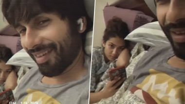 Lockdown Diaries: शाहिद कपूर ने बेड पर मीरा राजपूत के साथ शेयर किया मजेदार वीडियो, वाइफ को कहा- सेक्सी सेक्सी