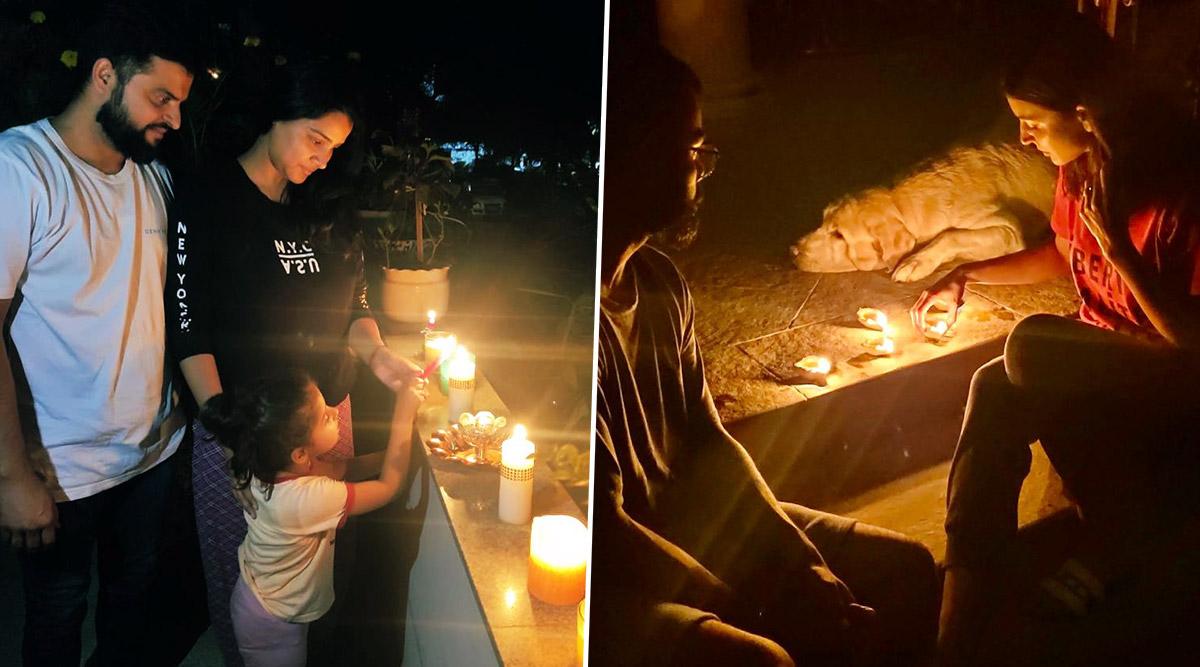 दिग्गज क्रिकेटरों ने भी कोरोना को हराने के लिए रात 9 बजे 9 मिनट तक जलाए दीये, देखें Photos