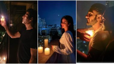 अक्षय कुमार, कैटरीना कैफ, रणवीर सिंह समेत बॉलीवुड सितारों ने भी पीएम मोदी की अपील पर जलाए दिये, देखिए तस्वीरें