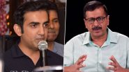 कोरोना संकट के बीच गौतम गंभीर ने दिल्ली सरकार को मुहैया कराई 1000 पीपीई किट, केजरीवाल ने की थी मांग