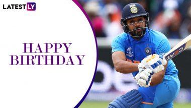 Happy Birthday Rohit Sharma: टीम इंडिया के 'हिटमैन' रोहित शर्मा आज मना रहे हैं अपना 33वां जन्मदिन, जानें अबतक का कैसा रहा है उनका क्रिकेट करियर