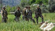 Jammu and Kashmir: मालबाग इलाके में सुरक्षाबलों और आतंकियों के बीच मुठभेड़ में एक आतंकवादी ढेर