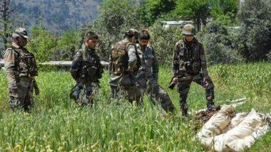 जम्मू कश्मीर: आतंकियों पर सुरक्षाबलों का प्रहार, मुठभेड़ में दो आतंकी ढेर