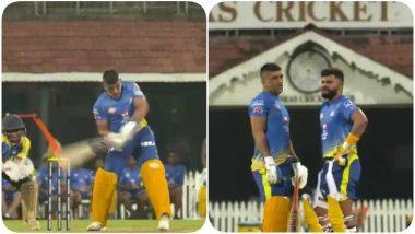 लॉकडाउन के बीच CSK ने पुराना वीडियो शेयर कर दिया क्रिकेट फैंस को नायाब तोहफा, देखें धोनी-रैना की जबरदस्त हिटिंग