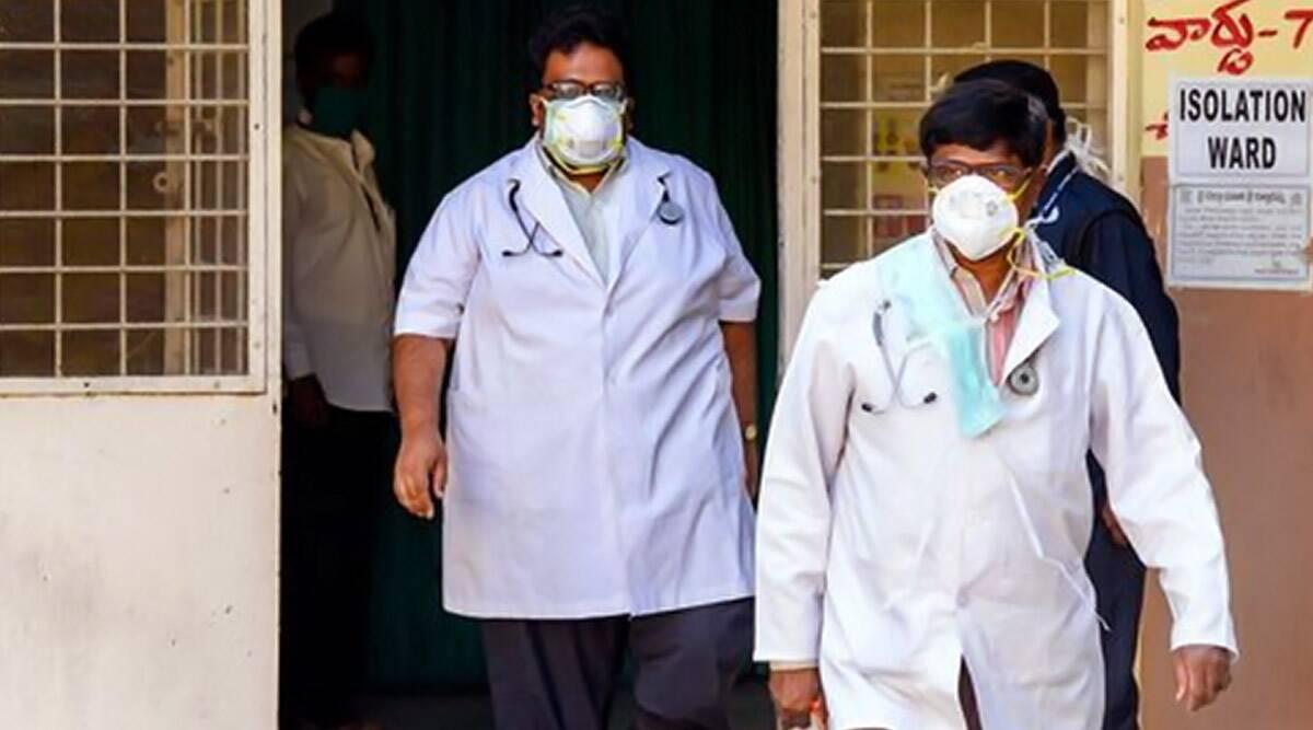 भोपाल में एम्स के चिकित्सकों की पिटाई, पुलिसकर्मी पर कार्रवाई