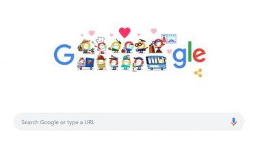 Thank You Coronavirus Helpers Google Doodle: गूगल ने कहा तमाम कोरोना योद्धाओं को थैंक यू, कोरोना वायरस हेल्पर्स को समर्पित किया ये खास डूडल
