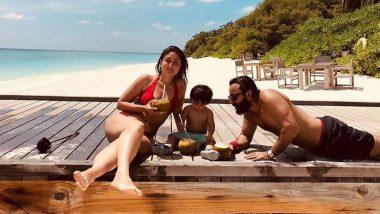 करीना कपूर ने बेटे तैमूर अली खान और पति सैफ अली खान के साथ शेयर की अपनी वेकेशन फोटो, Hot बिकिनी में आईं नजर