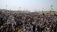 कोरोना वायरस से पाकिस्तान बेहाल: लॉकडाउन के दौरान राशन की मांग के साथ लोग सड़क पर उतरे